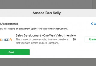 Invite Candidates to Spark Hire Interviews from SmartRecruiters